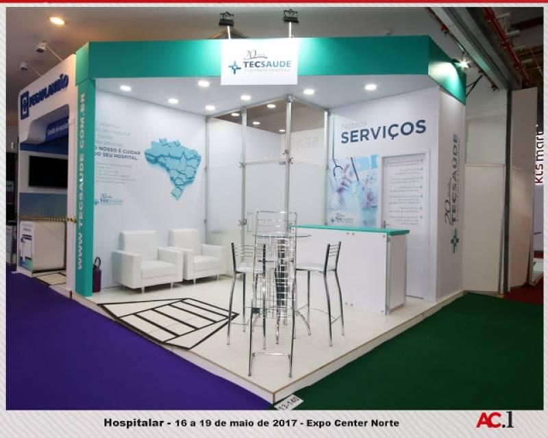 Stands de Eventos Curitiba - Stand de Feiras e Eventos