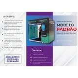 cabines de higienização para metrô Barra Funda