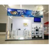 display para exposição preço Interlagos