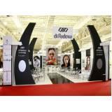 displays para divulgação de produtos Água Branca