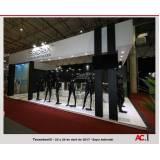 empresa de stand personalizado para feiras promocionais Moema