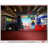 locação de stand de feiras e eventos Indianópolis