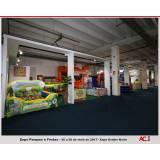 locação de stand para feiras de negócios Parque do Carmo