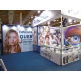 manutenção de stand para feiras de negócios preço Piracicaba