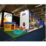 montadora de stands feiras exposições