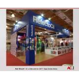 montagem de stand de feiras valor Vila Medeiros