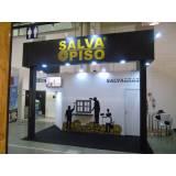 montagem de stand para eventos de divulgação orçamento Chácara Santo Antônio