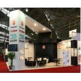 montagem de stand para eventos e exposições Perus