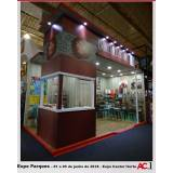 montagem de stands de feiras preço Brasilândia