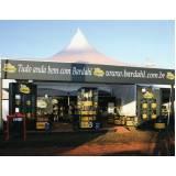montagens de stand para divulgação  Fazenda Morumbi