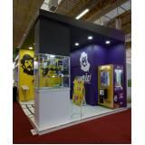 stand personalizado para divulgação de produtos preço Vila Tramontano