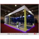 stand personalizado para exposição Sumaré