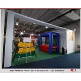 stand personalizado para feira e eventos Araraquara