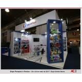 stand personalizado para feiras promocionais Jaguaré