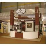 stands para feiras internacionais Hortolândia